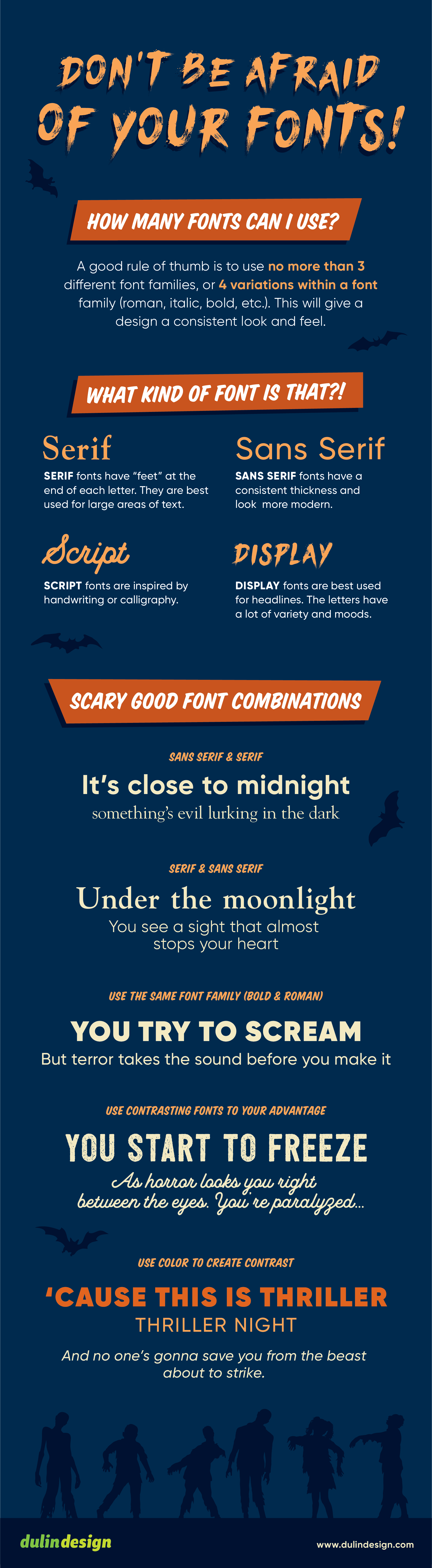 Don't be afraid of your fonts!